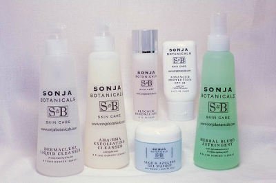 Sonja Botanicals Skin Care Basic Oily & Teen with Free Masque